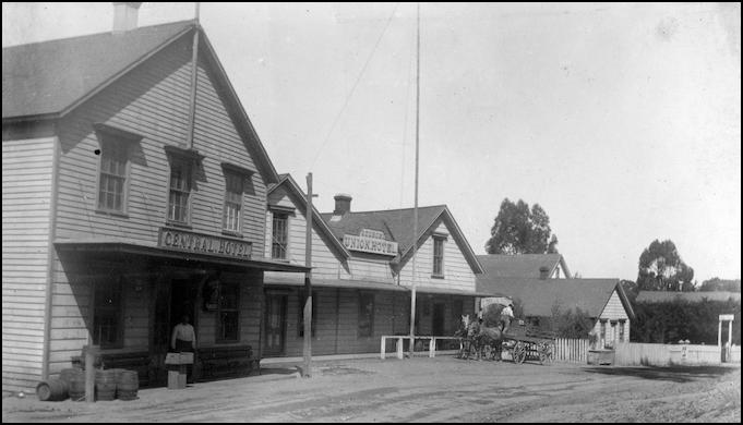 Swiss-Italian immigrant Jerry Adams' town of Olema