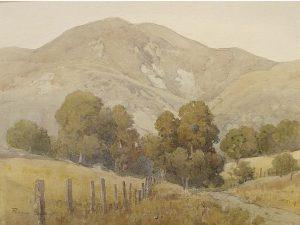 Mount Tamalpais by Percy Gray (1869-1952)